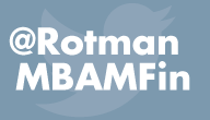 Follow the Rotman Morning/Evening MBA & MFin programs twitter feed