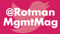 Follow Rotman Management Magazine on twitter